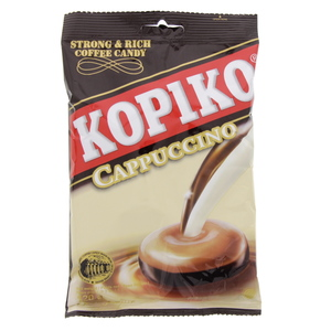 Kopiko Cappuccino Strong And Rich Coffee Candy 120g