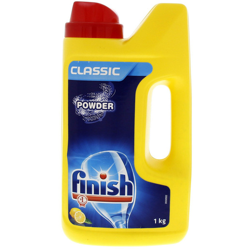 Finish Classic Dish Wash Powder Lemon 1kg