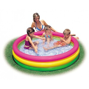 Intex Sunset Glow Baby Pool 114 x 25 cm Multicolor ASSB6F4LF1