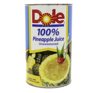 Dole 100% Pineapple Juice Unsweetened 1.3Litre