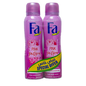 Fa Deodorant Spray Assorted 2 x 150ml