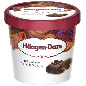 Haagen-Dazs Ice Cream Belgian Chocolate Mini Cup 100ml