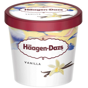 Haagen-Dazs Ice Cream Vanilla & Cream Mini Cup 100ml