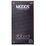 Moods Ribbed Condoms 12pcs