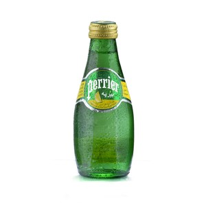 Perrier Natural Sparkling Mineral Water Lemon 200ml