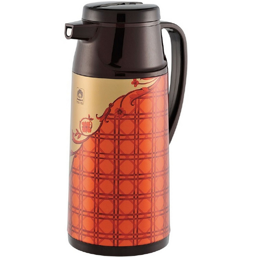 Peacock Flask Button 1.9Ltr Assorted