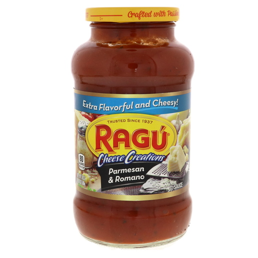 Ragu `Cheese Creations Parmesan And Romano Sauce 680g