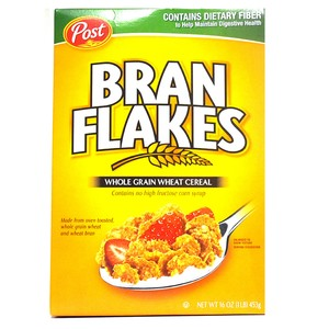 Post Bran Flakes Whole Grain Wheat Cereal 453g