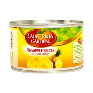 California Garden Pineapple Slices In Light Syrup 220g