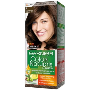 Garnier Color Naturals 5 Light Brown Hair Color 1 Packet