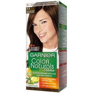 Garnier Color Naturals 5.3 Light Golden Brown Hair Color 1 Packet