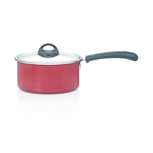 Premier Non-Stick Sauce Pan With Lid 18cm