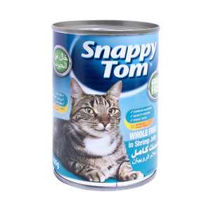 Snappy Tom Whole Fish In Shrimp Jelly 400g