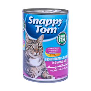 Snappy Tom Fisherman's Basket in Seafood Jelly 400g