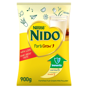 Nestle Nido Fortified Milk Powder Pouch 900g