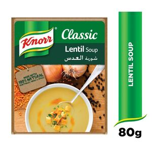 Knorr Packet Soup Lentil 80g