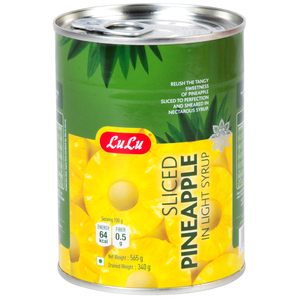 Lulu Sliced Pineapple In Light Syrup 565g