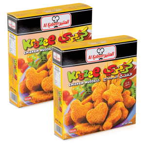 Al Kabeer Krazee Chicken Nuggets 400g x 2pcs