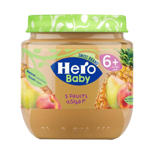 Hero Baby 3 Fruits 125g