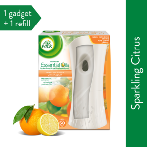 Air Wick Freshmatic Gadget + Sparkling Citrus 250 Ml