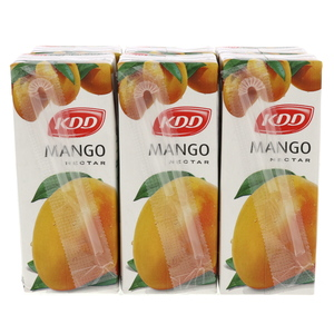 KDD Mango Nectar 180ml x 6pcs