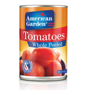American Garden Whole Peeled Tomatoes 411g