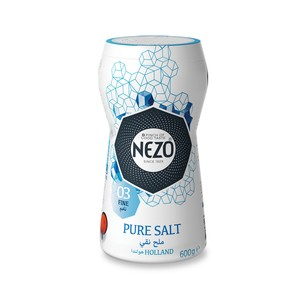 Nezo Fine Table Salt Bottle 600g