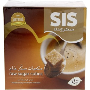 Sis Raw Sugar Cubes 454 gm