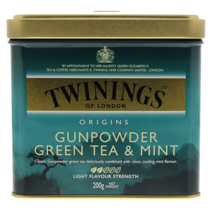 Twinings Gunpowder Green Tea And Mint 200g