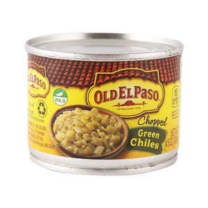 Old El Paso Chopped Green Chilies 127g