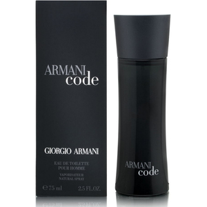 Giorgio Armani Code Black EDT for Men 75ml