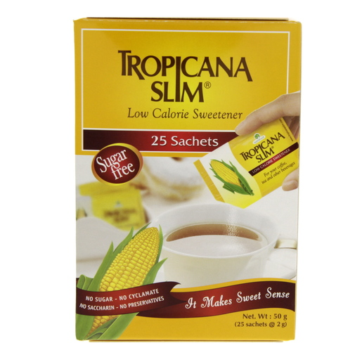 Tropicana Slim Low Calorie Sweetener 25's