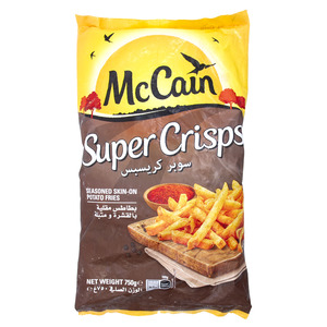 McCain Super Crisps Potato Fries 750g