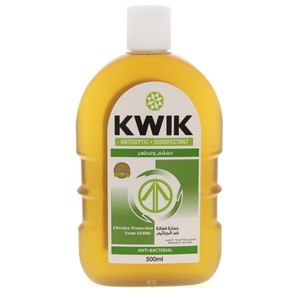 Kwik Antiseptic Disinfectant Anti Bacterial Liquid 500ml