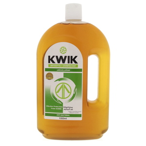 Kwik Antiseptic Disinfectant Anti Bacterial Liquid 1Litre