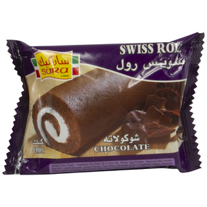 Sara Swiss Roll Chocolate 75g