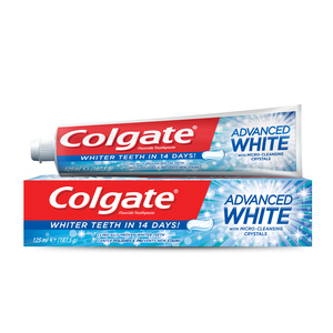 Colgate Fluoride Toothpaste Advanced Whitening 125ml