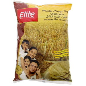Elite Whole Wheat Flour Chakki Atta 5 Kg