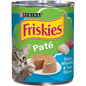 Purina Friskies Wet Can Pate Ocean White Fish Cat Food 368 Gm