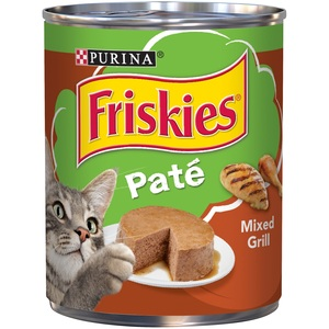 Purina Friskies Wet Can Pate Mixed Grill Cat Food 368 Gm