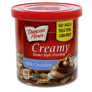 Duncan Hines Creamy Home-Style Frosting Milk Chocolate 454 Gm