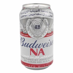 Budweiser Non Alcoholic Drink 355ml