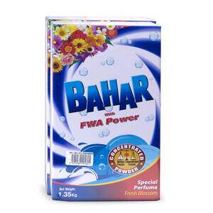 Bahar Washing Powder  FWA 2 x 1.35kg