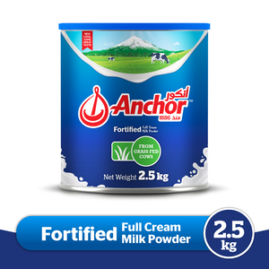 Anchor Full Cream Milk Powder 2.5kg