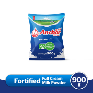 Anchor Full Cream Milk Powder 900g