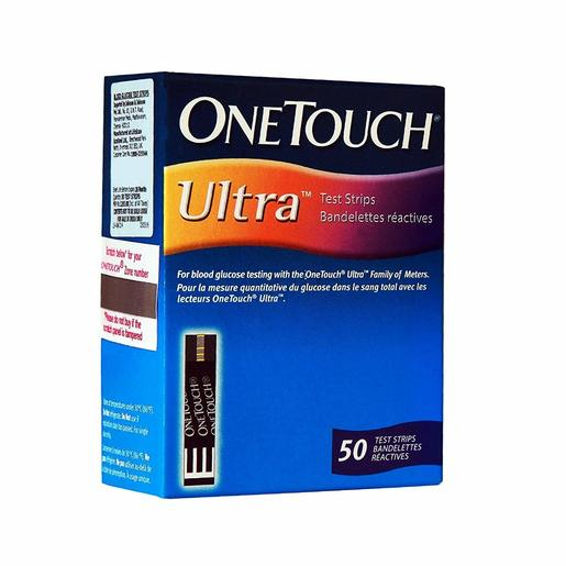 Life Scan One Touch Ultra Strips 50's