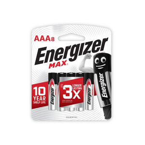 Energizer Max Power seal Battery AAA Battery E92BP8
