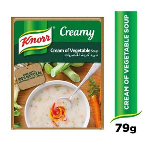 Knorr Packet Soup Cream of Vegetables 79g