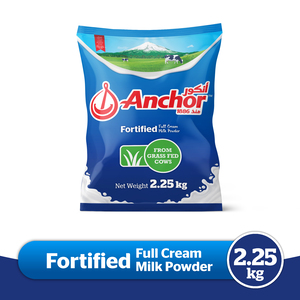 Anchor Full Cream Milk Powder 2.25kg