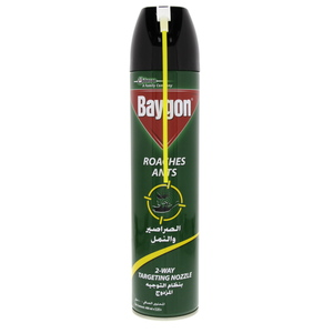 Baygon Roaches Ants 2 Way Targeting 400 Ml
